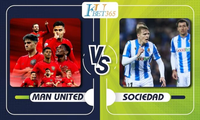 Man United vs Sociedad