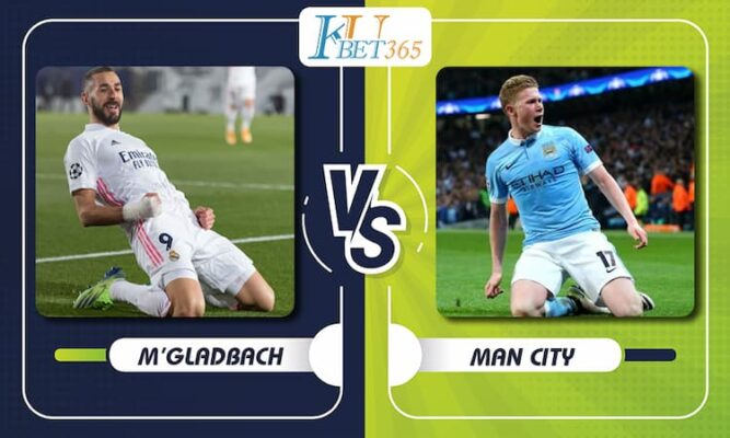 M'gladbach vs Man City